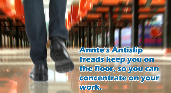 Annte Antislip work shoes